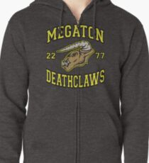 Megaton Deathclaws Zipped Hoodie