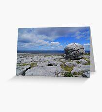 The Burren landscape Greeting Card