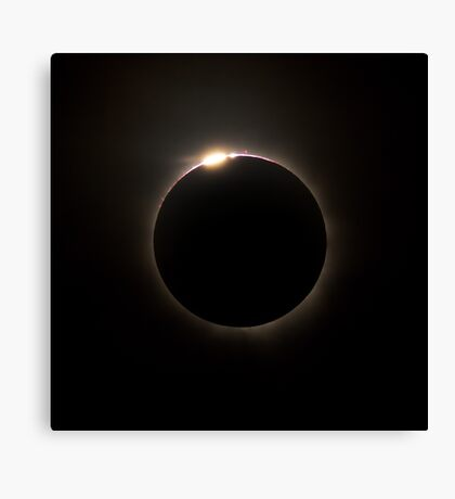 Solar Eclipse 2012 Canvas Print