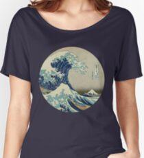Große Welle vor Kanagawa-Kreis Baggyfit T-Shirt