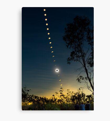 Solar Eclipse Composite 2012 Canvas Print