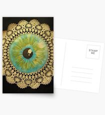 Delicate Eye Lace Postcards