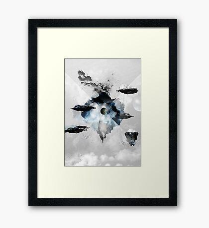 Vortex Framed Print