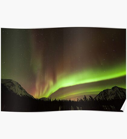 Yukon Northern Lights 4 Poster