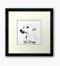 Mr Doge Framed Print