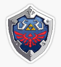 Hylian Shield Sticker