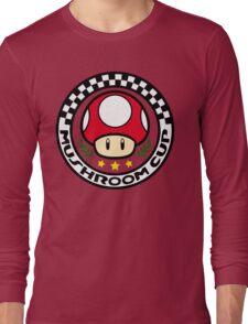 Mushroom Cup Long Sleeve T-Shirt
