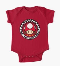 Mushroom Cup One Piece - Short Sleeve