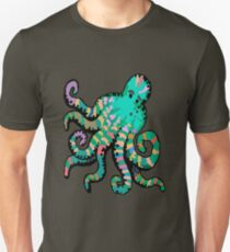 Funky Octopus Unisex T-Shirt