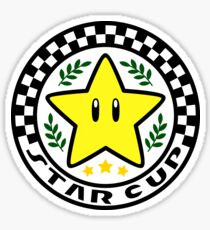 Star Cup Sticker