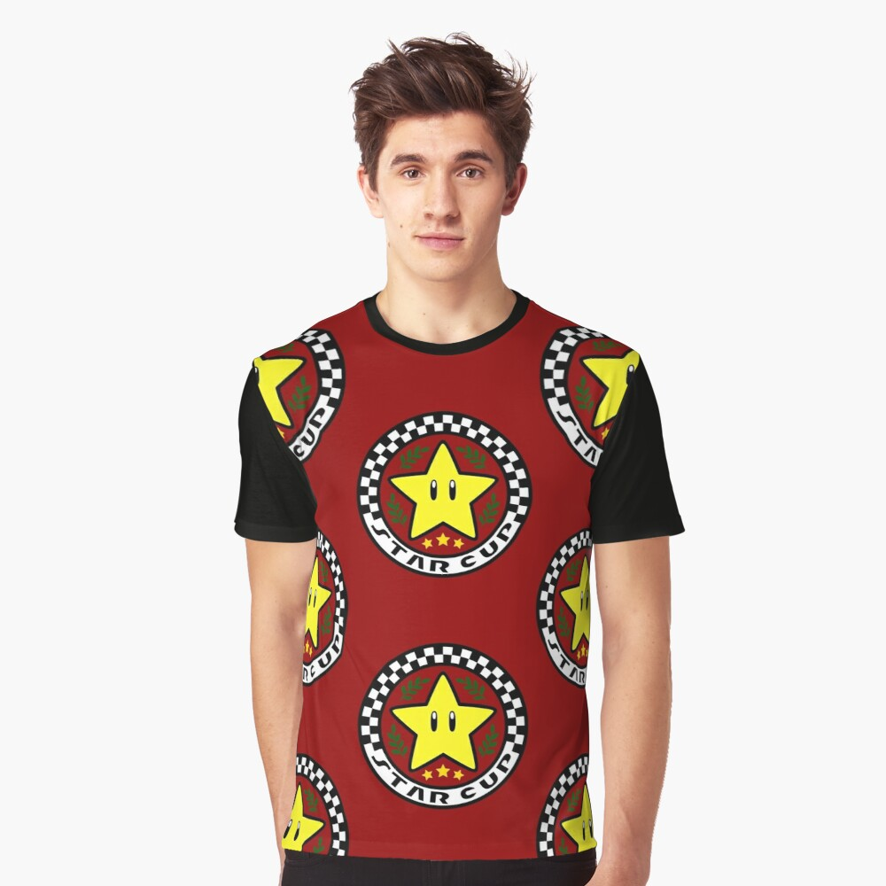Star Cup Graphic T-Shirt Front