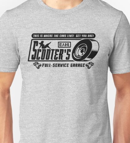 Scooter's Workshop v2 Unisex T-Shirt