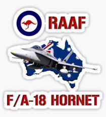 F/A-18 Hornet of the RAAF Sticker