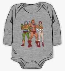 MotU Trinity Long Sleeve Baby One-Piece
