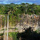Mauritius - Plaine Champagne Waterfall by mattnnat