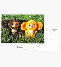 Cheburahska found a friend Postcards