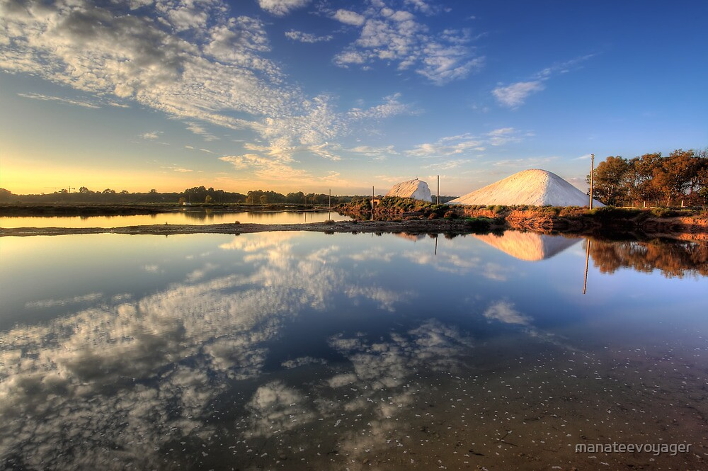 Salt Pans Of Ludo by manateevoyager