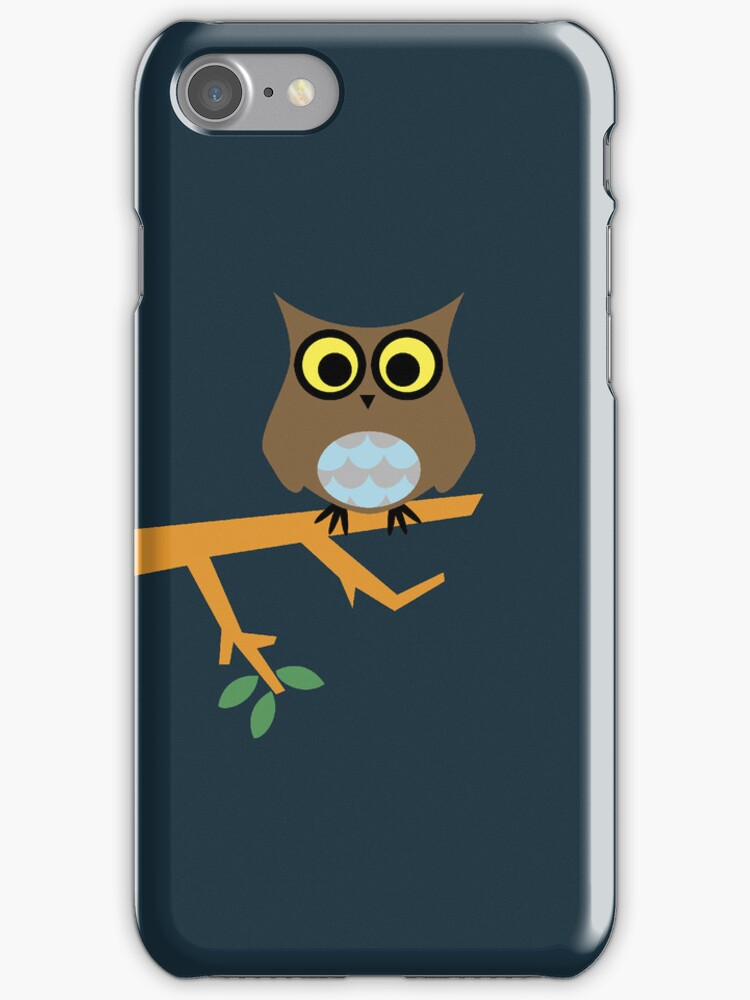 Owl on a Limb by Justin Mair