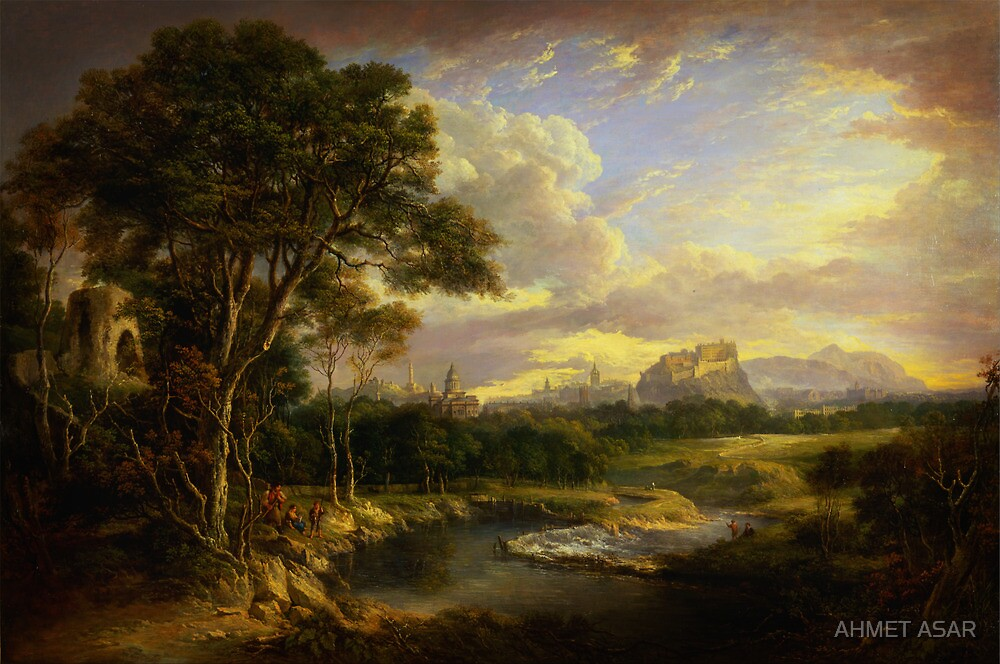 Alexander Nasmyth View of the City of Edinburgh by MotionAge Media