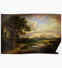 Alexander Nasmyth View of the City of Edinburgh Poster