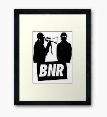 Boys Noize Records - BNR Framed Print