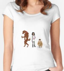 Annie, Tom, and Hal Women's Fitted Scoop T-Shirt