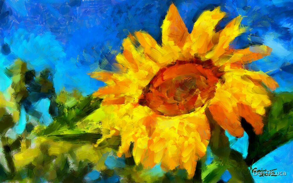 The Sunflower by DiNovici