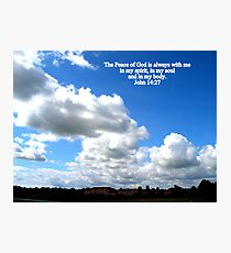 Peace of God Photographic Print