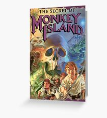 The Secret of Monkey Island Greeting Card