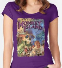 The Secret of Monkey Island Fitted Scoop T-Shirt
