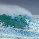 Waves at Friendly Beaches by John Conway