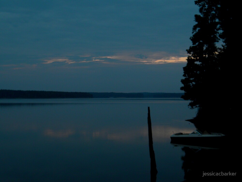 Jordan Lake Sunrise by jessicacbarker