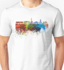 Gothenburg skyline in watercolor background T-Shirt