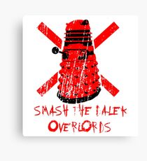 Dalek Overlords Canvas Print