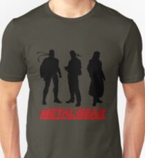 Metal Gear Solid Boss and Snakes T-Shirt