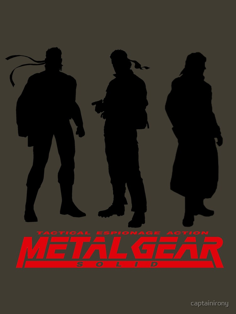 Metal Gear Solid Boss and Snakes by captainirony