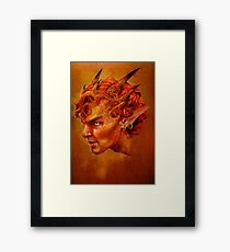 Smauglock Framed Print
