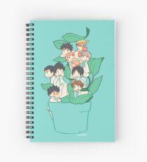 Haikyuu!! Team Aobajousai Spiral Notebook