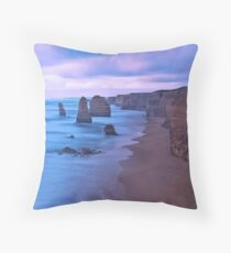 The Apostles at Dusk Throw Pillow