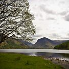 Beautiful Lake Buttermere, Lake District, United Kingdom by Elana Bailey