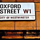 Oxford Street by Ann Evans