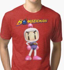 Bomberman Tri-blend T-Shirt