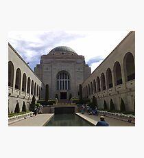 War Memorial, Canberra, Australia. Photographic Print