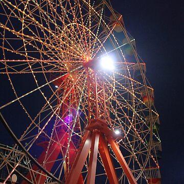 Sydney Ferriswheel by oibrynniee