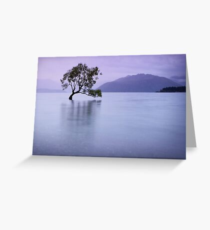 The Tree in the Lake Greeting Card