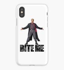 Spike from Buffy - Bite Me iPhone Case