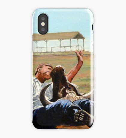 Bucky Get the Bull iPhone Case
