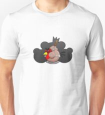 Dead Angry Bird. Unisex T-Shirt