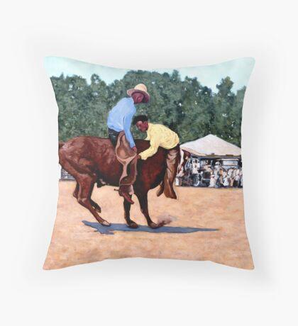 Cowboy Conundrum Throw Pillow