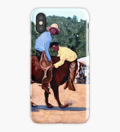 Cowboy Conundrum iPhone Case